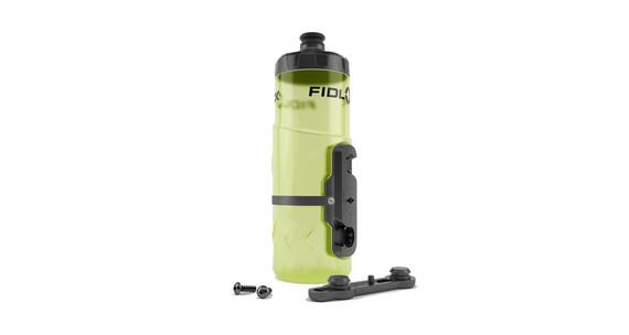 Fidlock Bottle Twist Drikkesystem Front with Gravity Kit gul